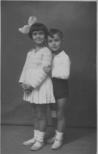 María del Carmen y Joaquín Quijano Párraga, 1931