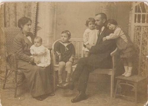 Antonio Quijano Gómez y su primera esposa Antonia Parraga Marín