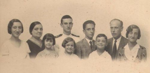 Antonio Quijano Gómez y su segunda esposa Josefa Parraga Marín
