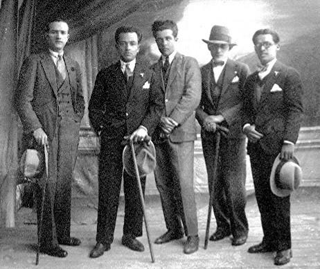 Abuelo Pedro Quijano, 1921